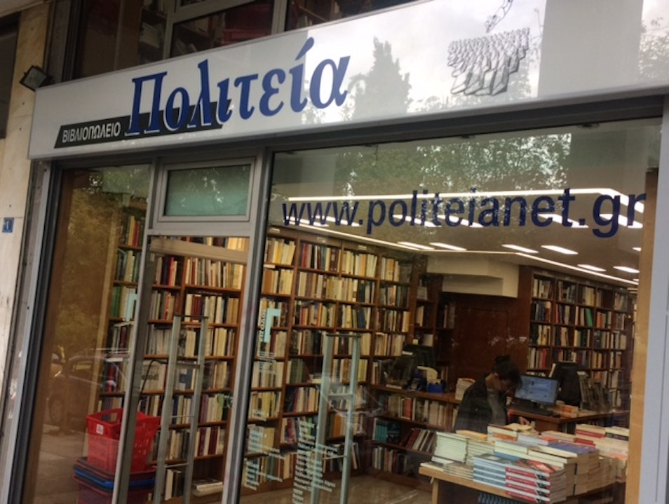 Pick up a good book at a classic Athens bookshop Athens  Greece