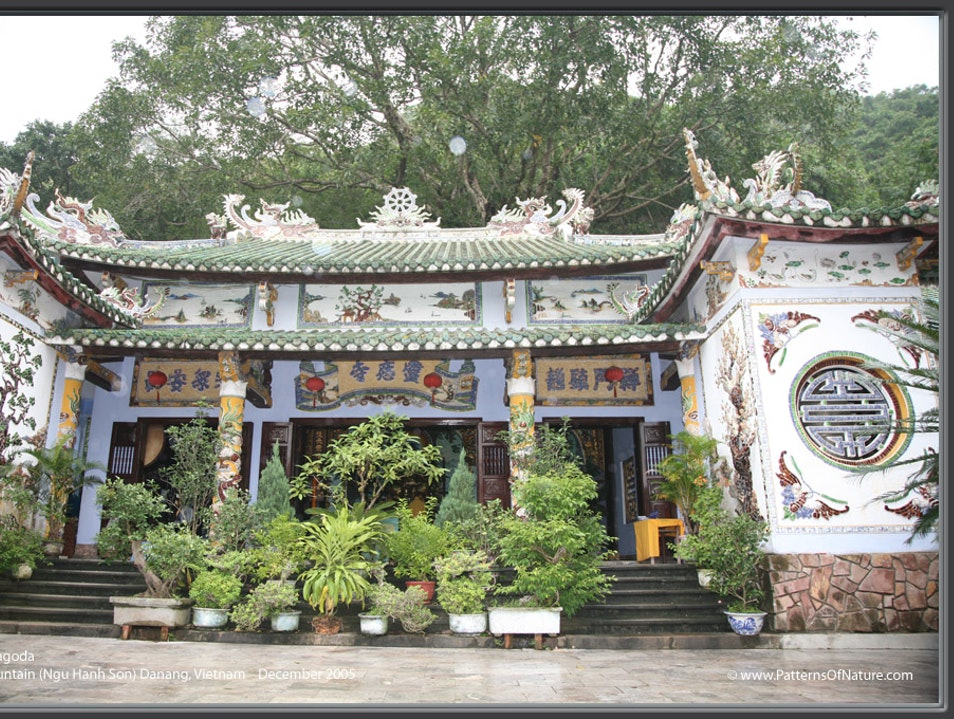 A Piece of Pagoda Paradise Thọ Quang  Vietnam