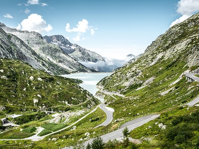 Grimsel Pass Obergoms  Switzerland