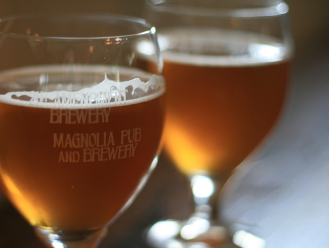 Drink Local Beer with the Locals at Magnolia in the Haight