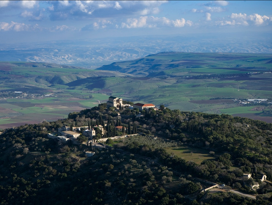 The beauty of the Galilee  Rosh Pinna  Israel