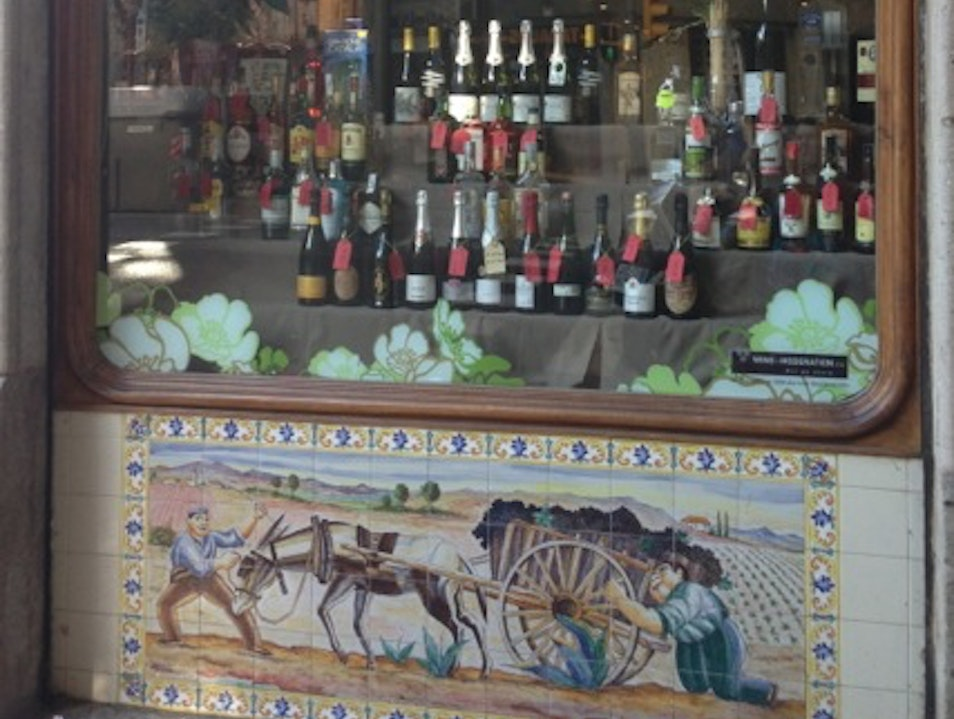 Wines from around the world, but mostly Spain & Portugal