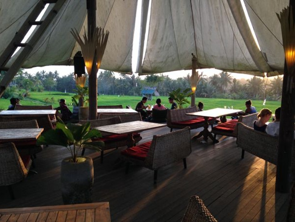 Tent with a view Ubud  Indonesia