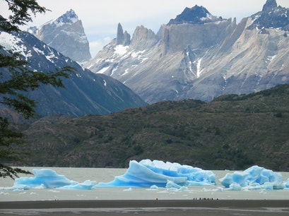 Grey Lake Torres del Paine  Chile