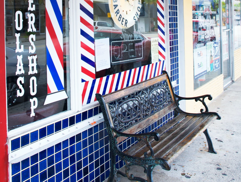 History and a Haircut Fort Lauderdale Florida United States
