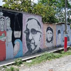 Take a self-guided tour of San Salvador's street art