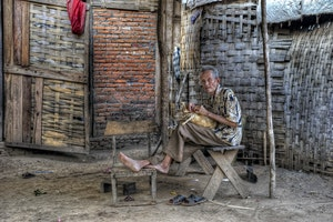 Ban Xang Khong Weaving Village