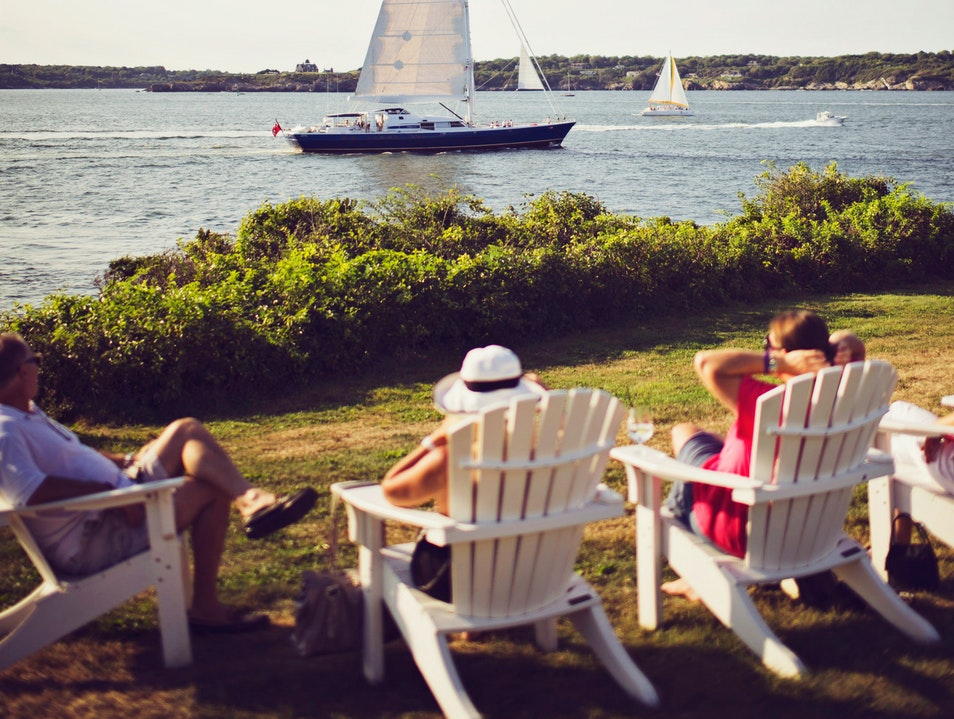 Sail on an America's Cup Yacht
