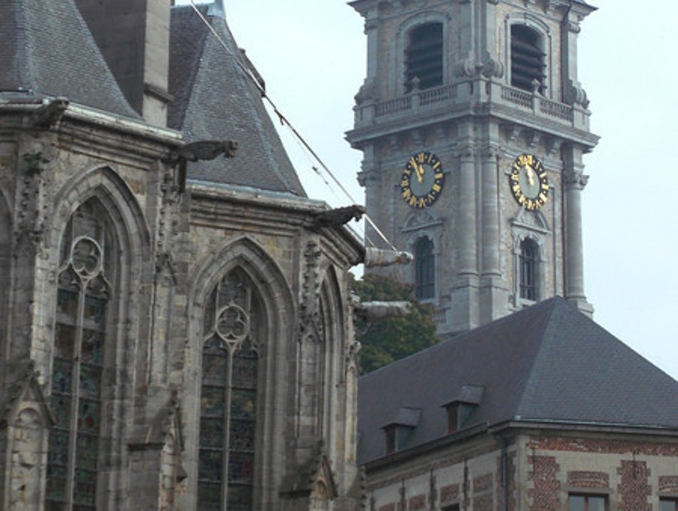 Mons, early Sunday October morning Mons  Belgium
