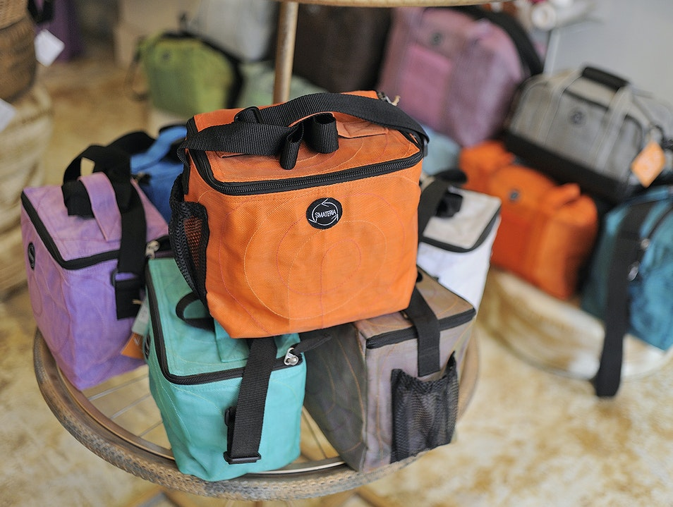 Cambodian bags made from recycled materials Siem Reap  Cambodia
