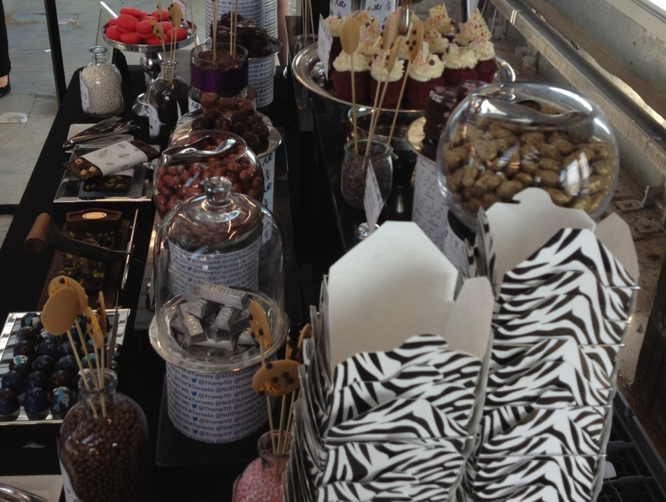 An Exclusive In-House Gourmet Chocolatier at Trump Towers Toronto