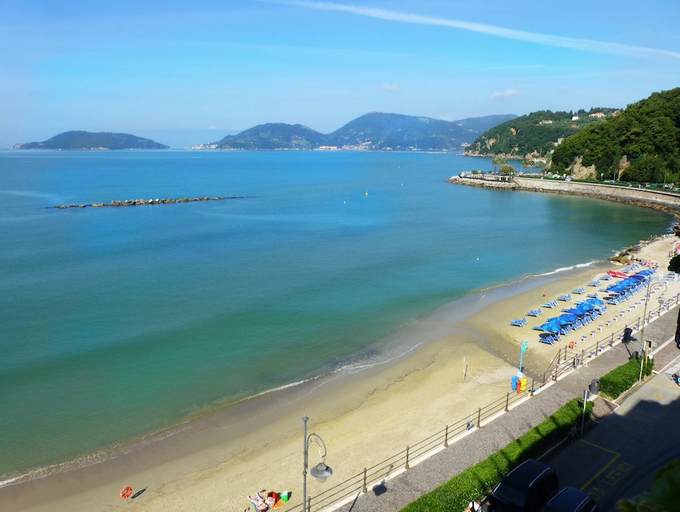 Perfect end to our vacation Lerici  Italy