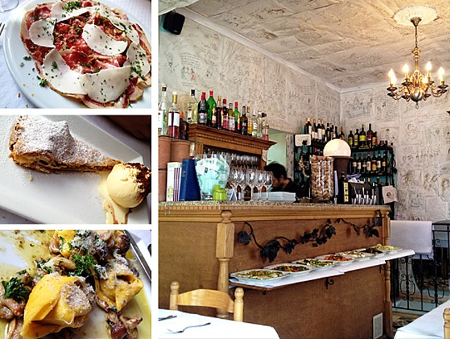 Authentic Italian in a Quirky Brussels Setting