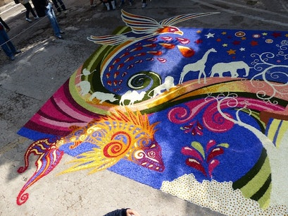 The Infiorata Spello  Italy