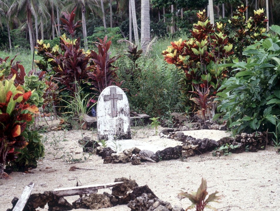King Cameron's Grave Milne Bay Province  Papua New Guinea