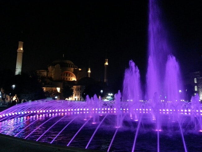 The Dancing Fountain of Sultanahmet
