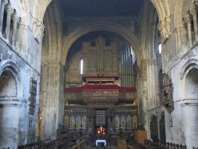 Seeking Out London's Oldest Church