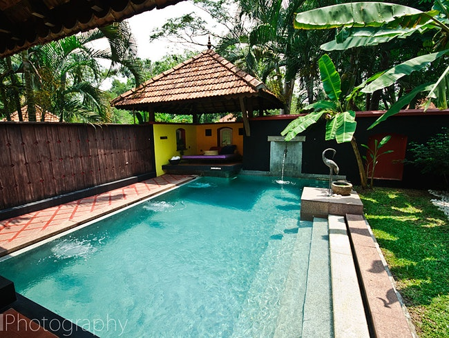 Private Pools and Luxury Living on the Kerala Backwaters