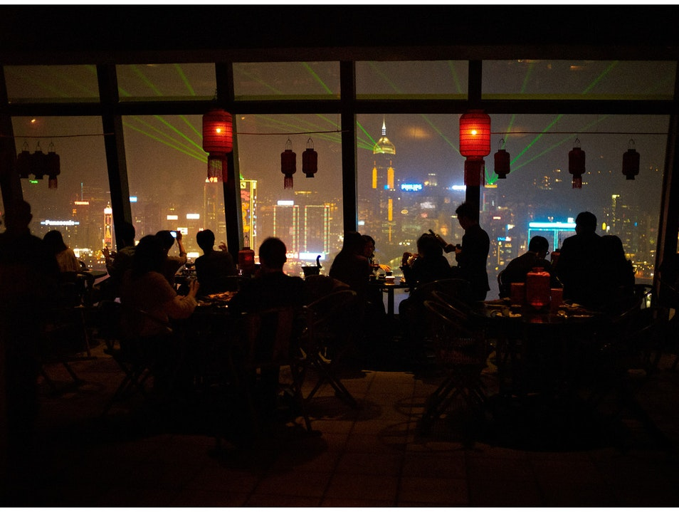 Hong Kong's Finest View with Your Dinner
