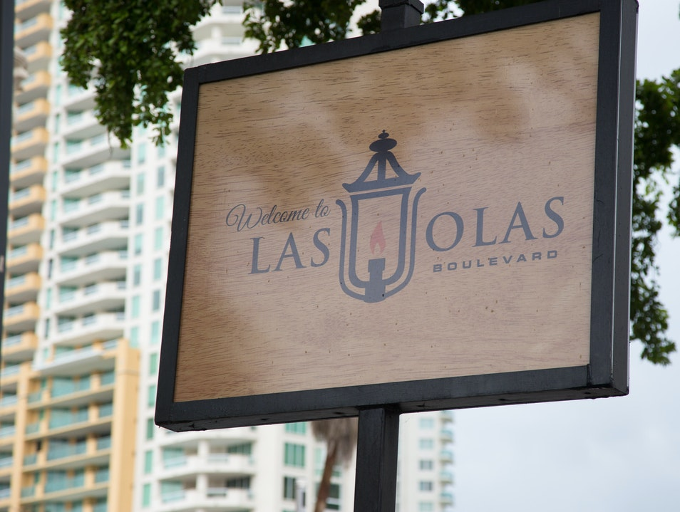 Shop and Stroll Las Olas Boulevard Fort Lauderdale Florida United States
