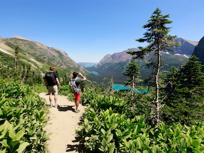 Grinnell Glacier Trail Browning Montana United States
