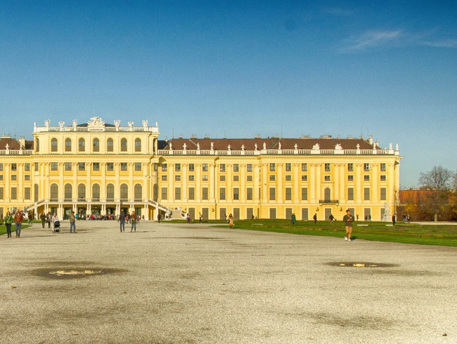 The Schoenbrunn Palace