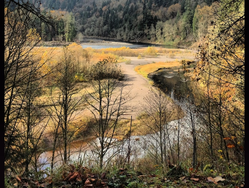 Sandy River Cycling Route