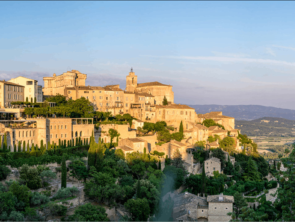 Art and Historic Architecture in the Luberon Gordes  France