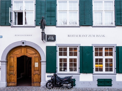 Restaurant Zum Isaak Basel  Switzerland