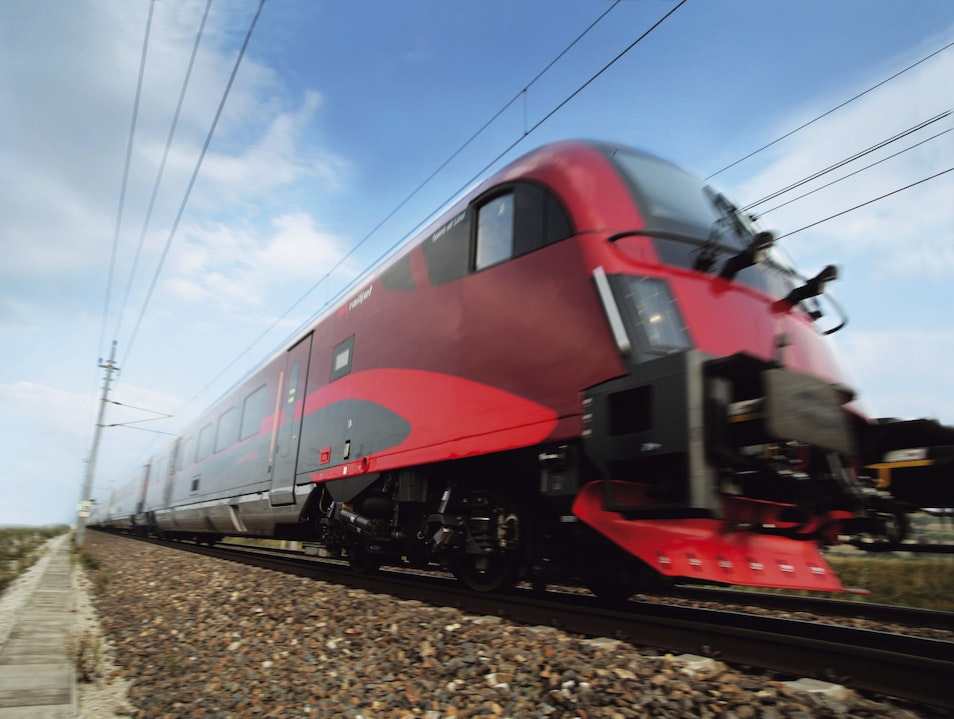 ÖBB railjet – fly without leaving the ground Vienna  Austria