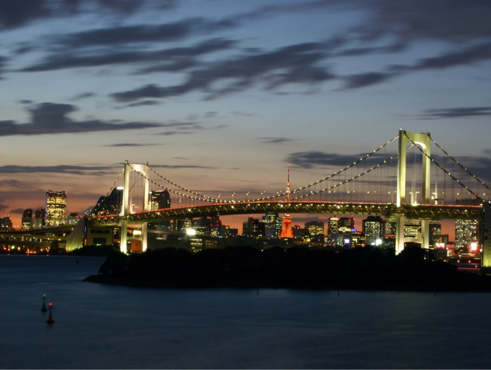 Rainbow Bridge Koto  Japan