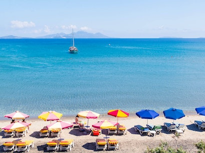 Paradise Beach Kos  Greece