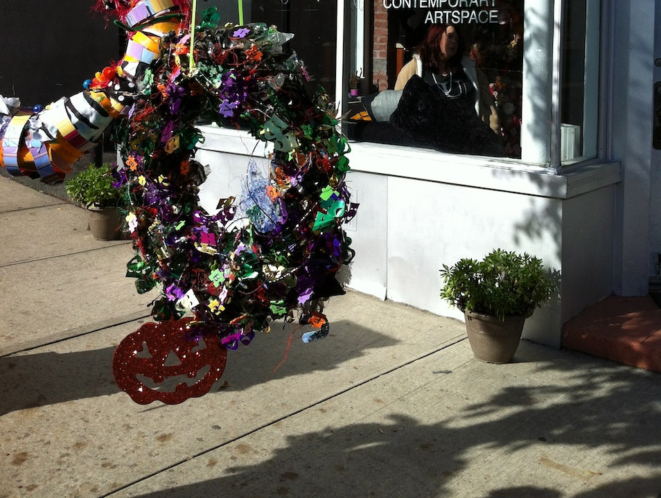 The Wacky Tacky Wreath Collection is Ready for Halloween Montclair New Jersey United States