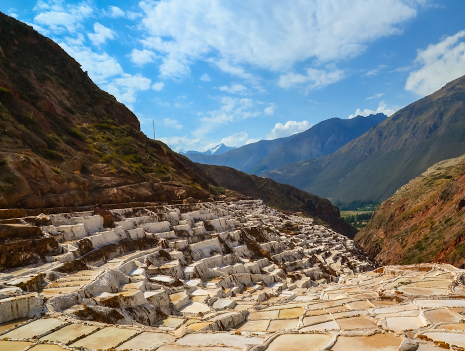 Artisan Salt with a View Maras  Peru