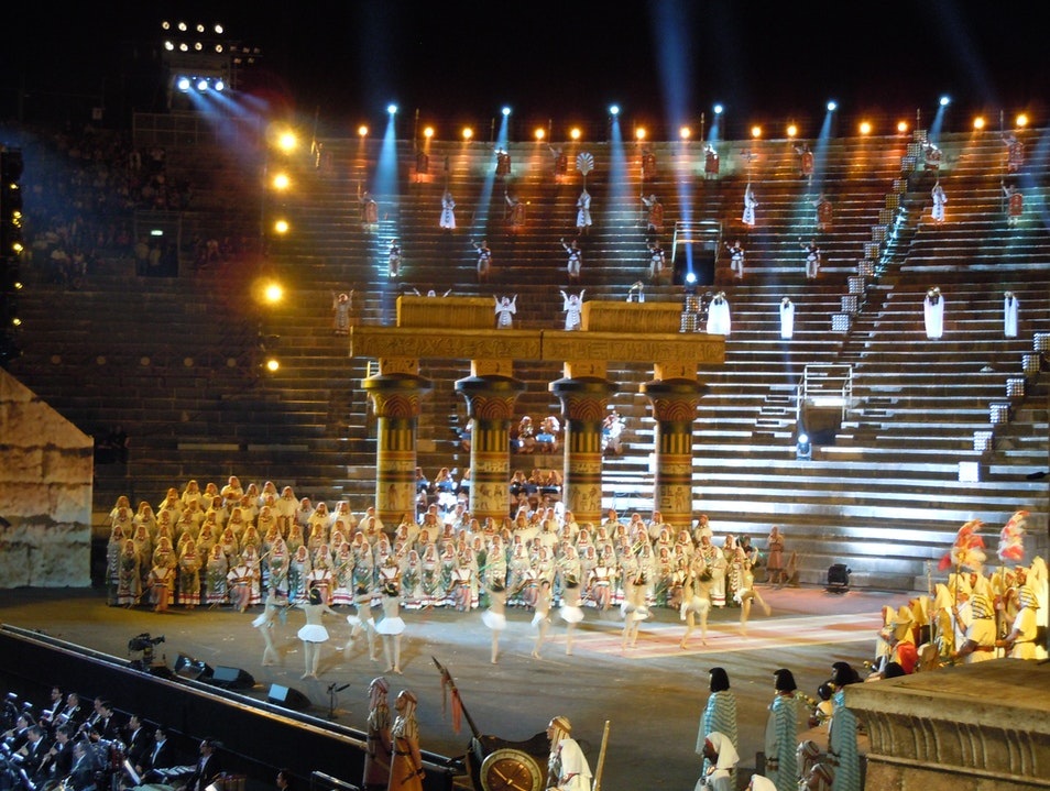 One Night Only: 5 Classic Operas in One Night Verona  Italy