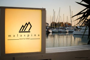 Malaspina Yacht and tonic