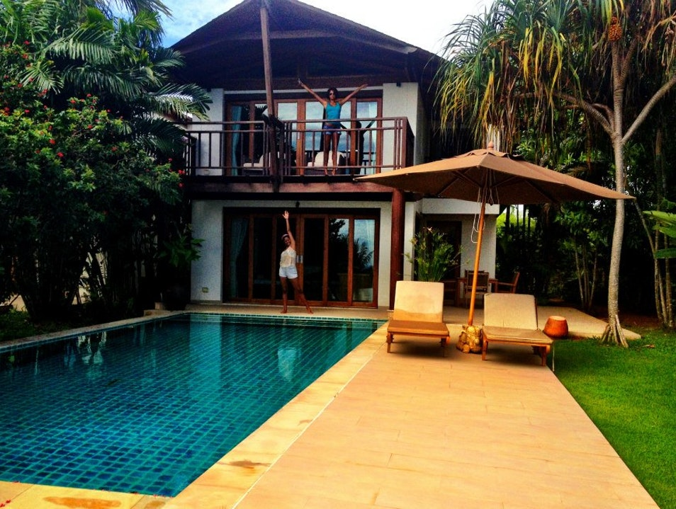 Private Villa on Coconut Island Ratsada  Thailand