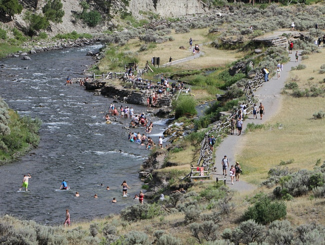 Boiling River, Yellowstone National Park, WY