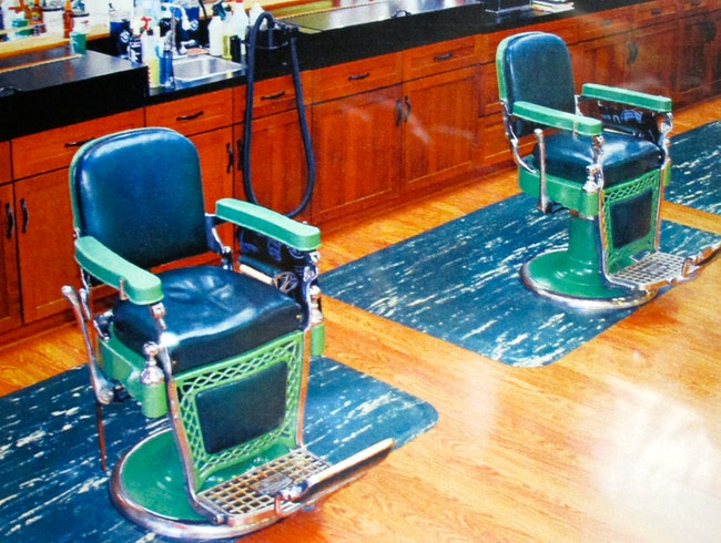 Old-School Barber Shop