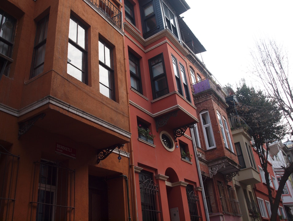 Kuzguncuk Neighborhood by the Bosphorus Istanbul  Turkey