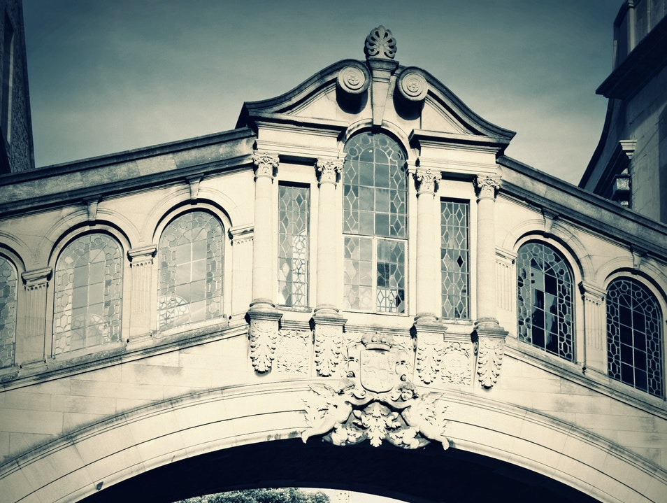Bridge of Sighs Oxford  United Kingdom