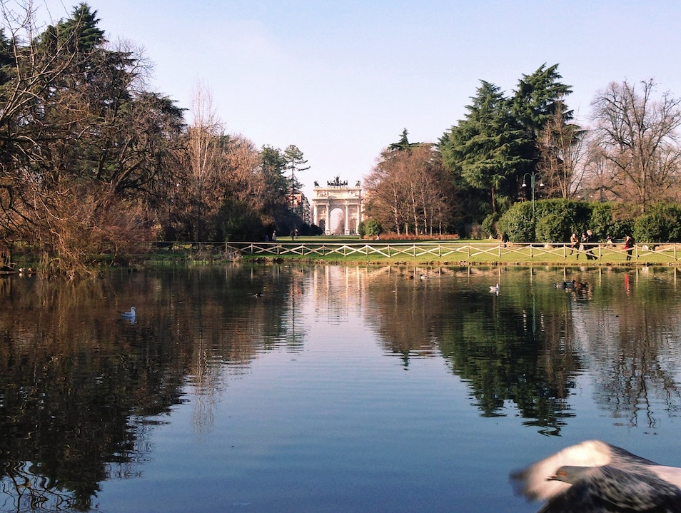 A Walk in the Park Milan  Italy