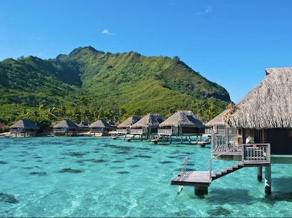 Moorea Windward Islands  French Polynesia