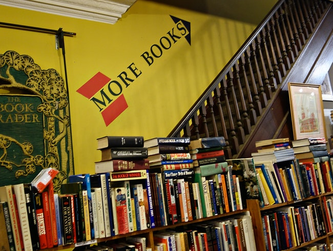 Get lost for hours at the Book Trader