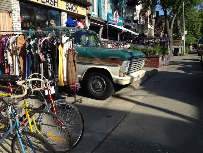 Vintage Shopping in Kensington Market