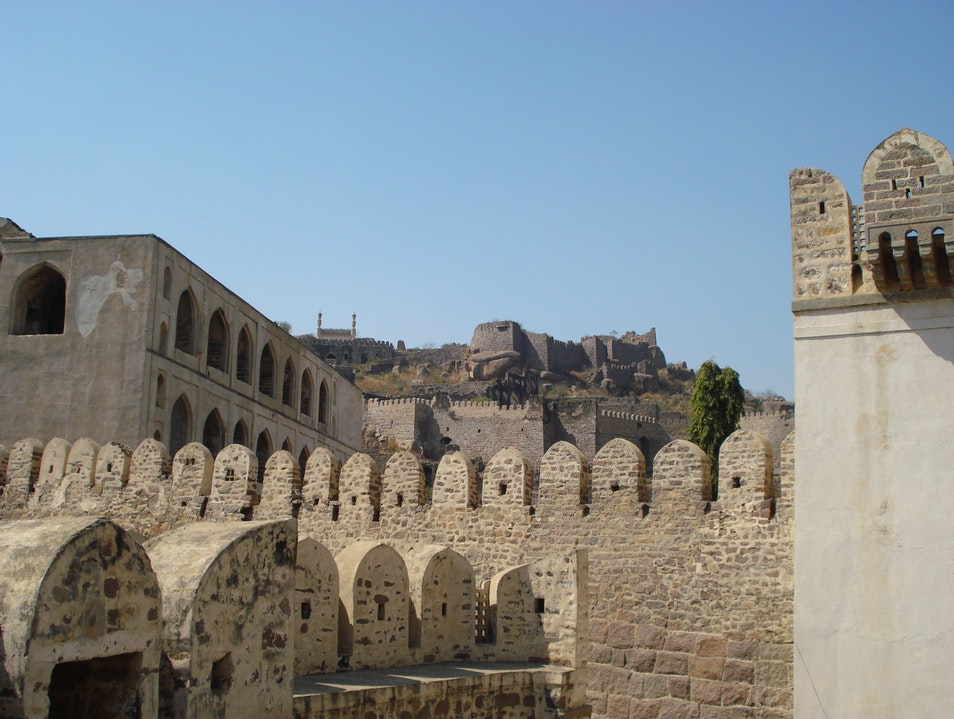 Hike to the Historic Golconda Fort Hyderabad  India