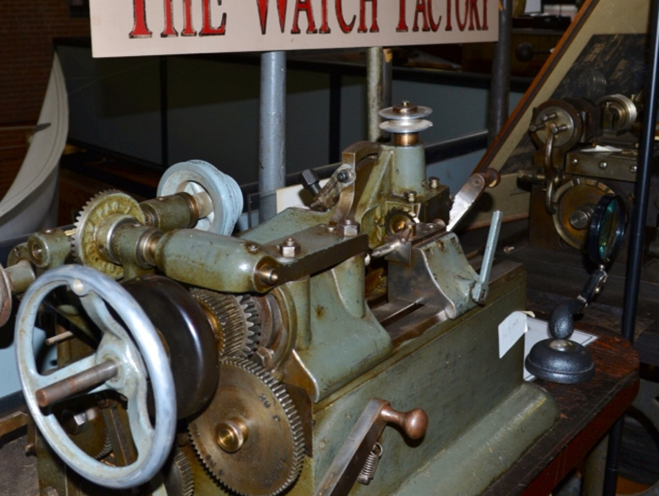 Machines from Our Industrial Past Waltham Massachusetts United States