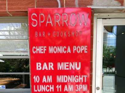 Sparrow Bar + Cookshop Houston Texas United States