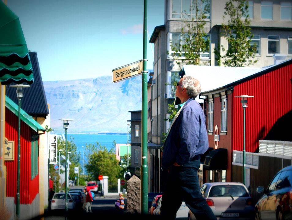 Lost in colors? :)  Reykjavik  Iceland