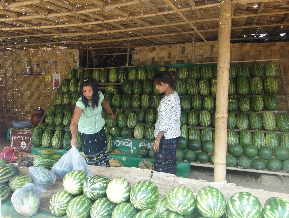 Melons in Myanmar